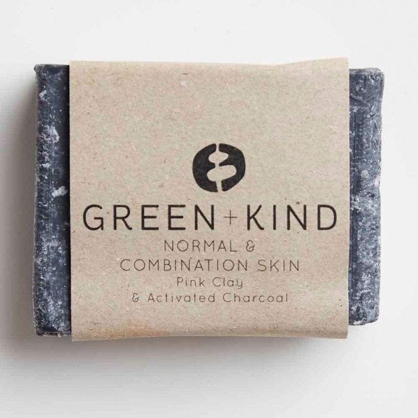 Green + Kind Facial Cleansing Bar – Normal/ Combination Skin (100g)