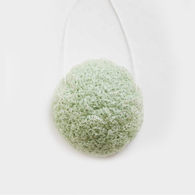Green + Kind Konjac Sponge Aloe – Hydrating & Purifying