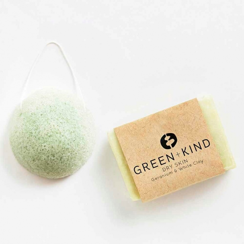 Green + Kind Face Care Pack – Dry Skin