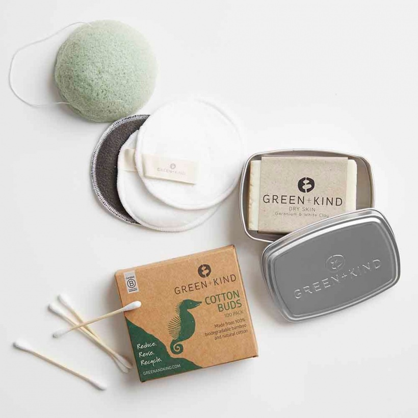 Green + Kind Luxe Beauty Pack – Dry Skin