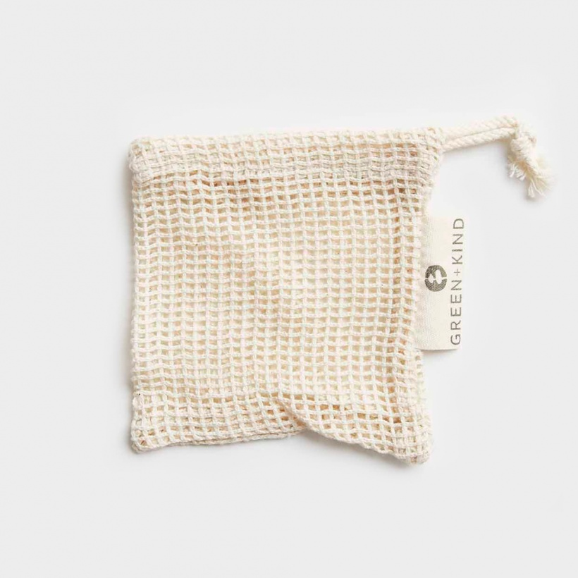 Green + Kind Soap Bag