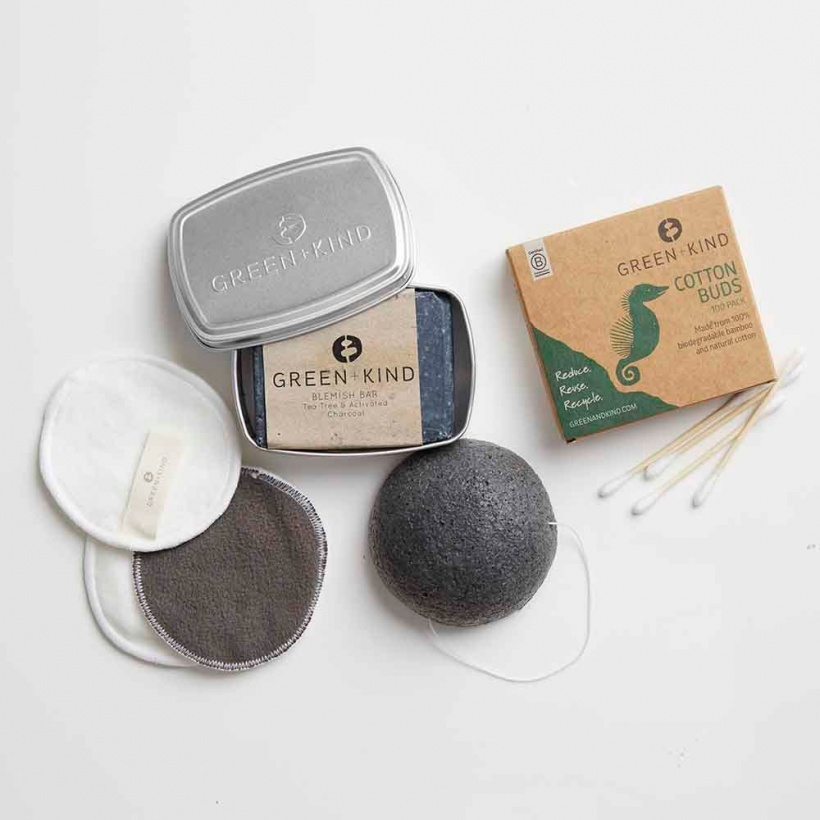 Green + Kind Luxe Beauty Pack – Blemish Prone Skin
