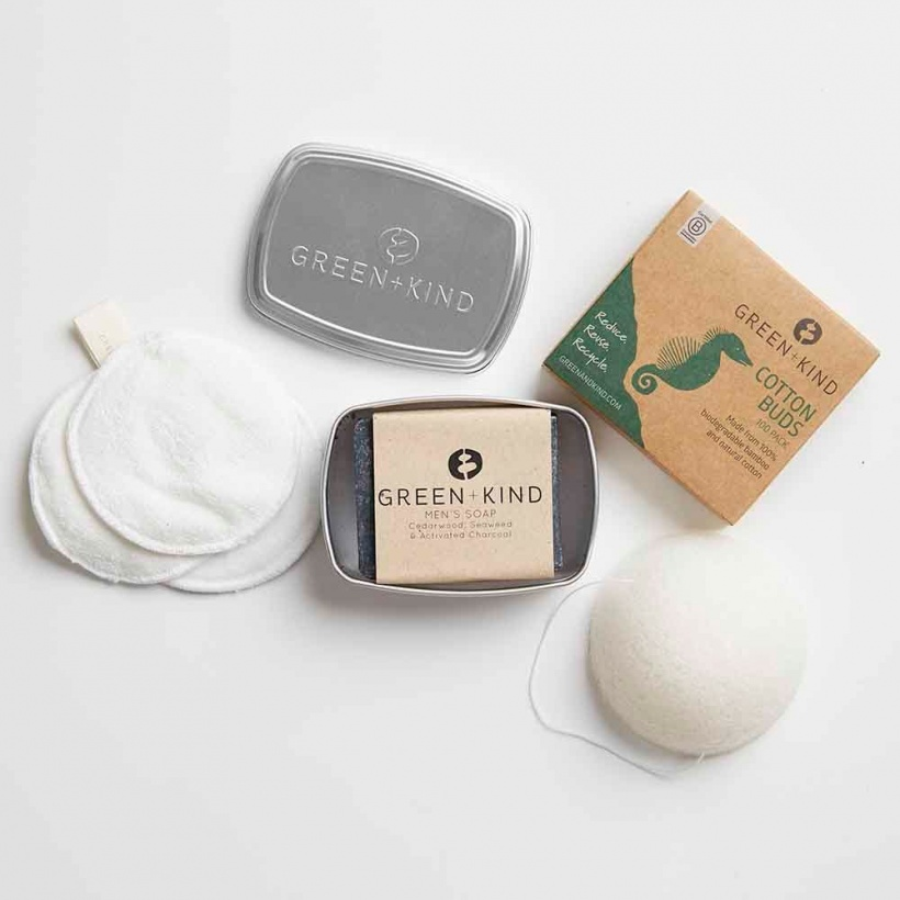 Green + Kind Luxe Beauty Pack – For Men
