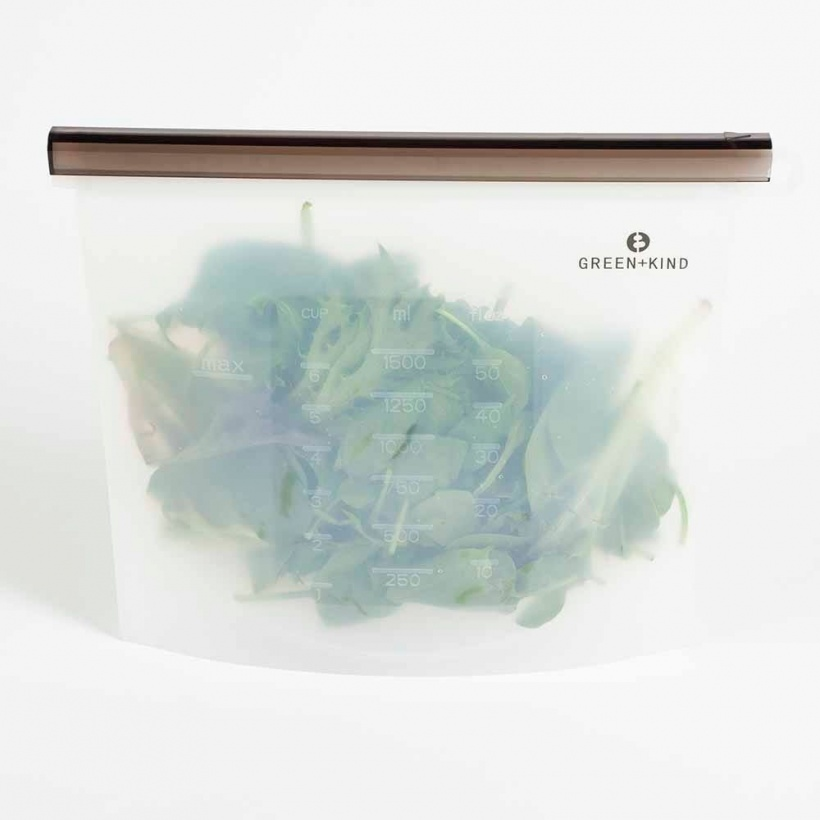 Green + Kind Reusable Silicone Food Pouch 1500ml